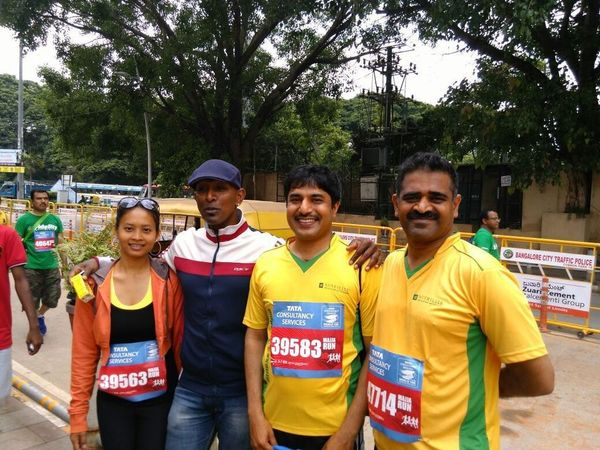 joy of running groups in bangalore