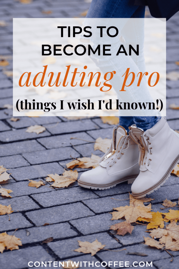 Tips about adulting for young adults