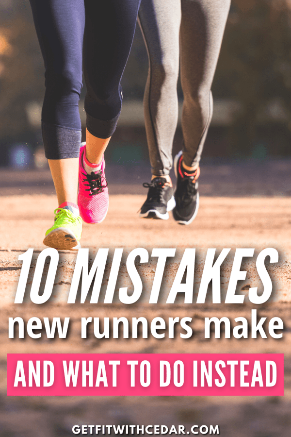new runner mistakes pin