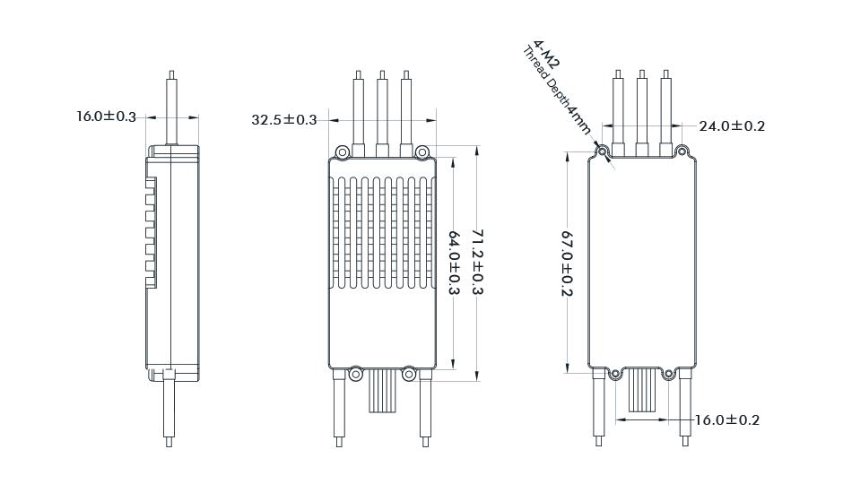T-Motor ALPHA 60A LV ESC