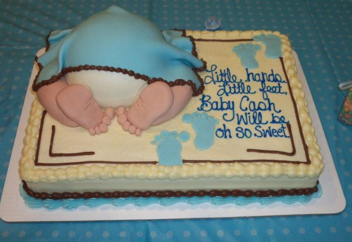 Have Fun Cute Baby Shower Cake Ideas Baby Shower