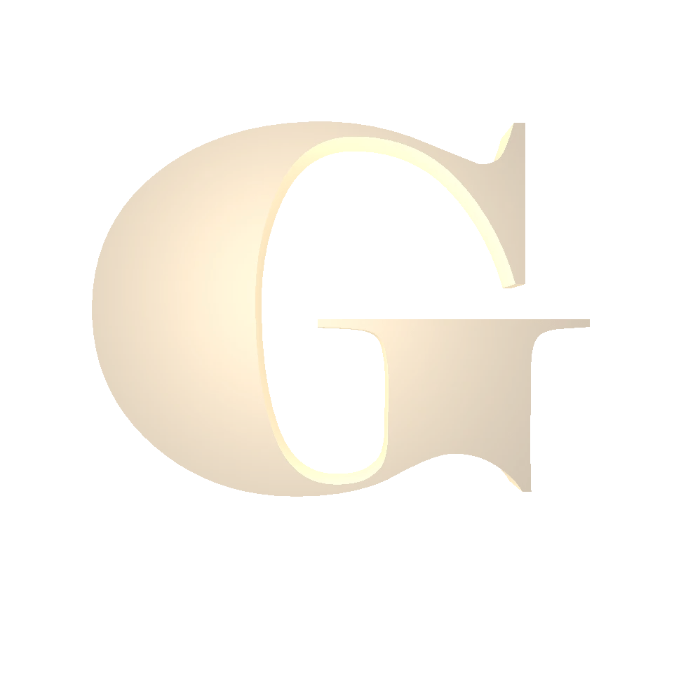 Gordon McKernan G Logo Gold