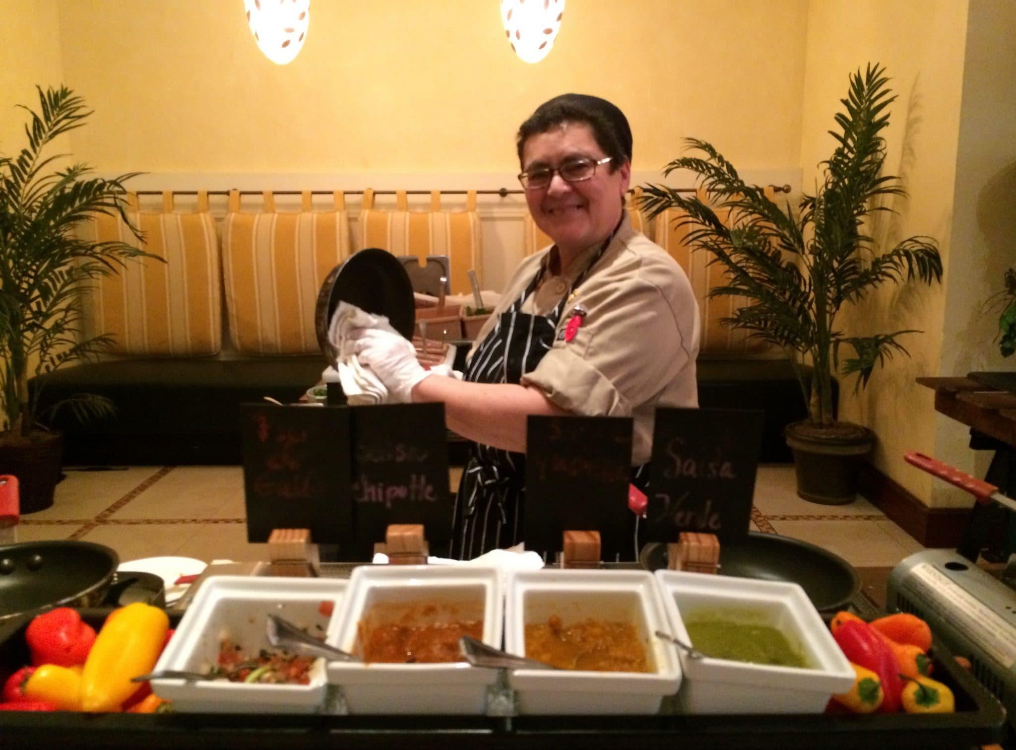 Trevi S Breakfast Buffet At The Omni Orlando Resort At