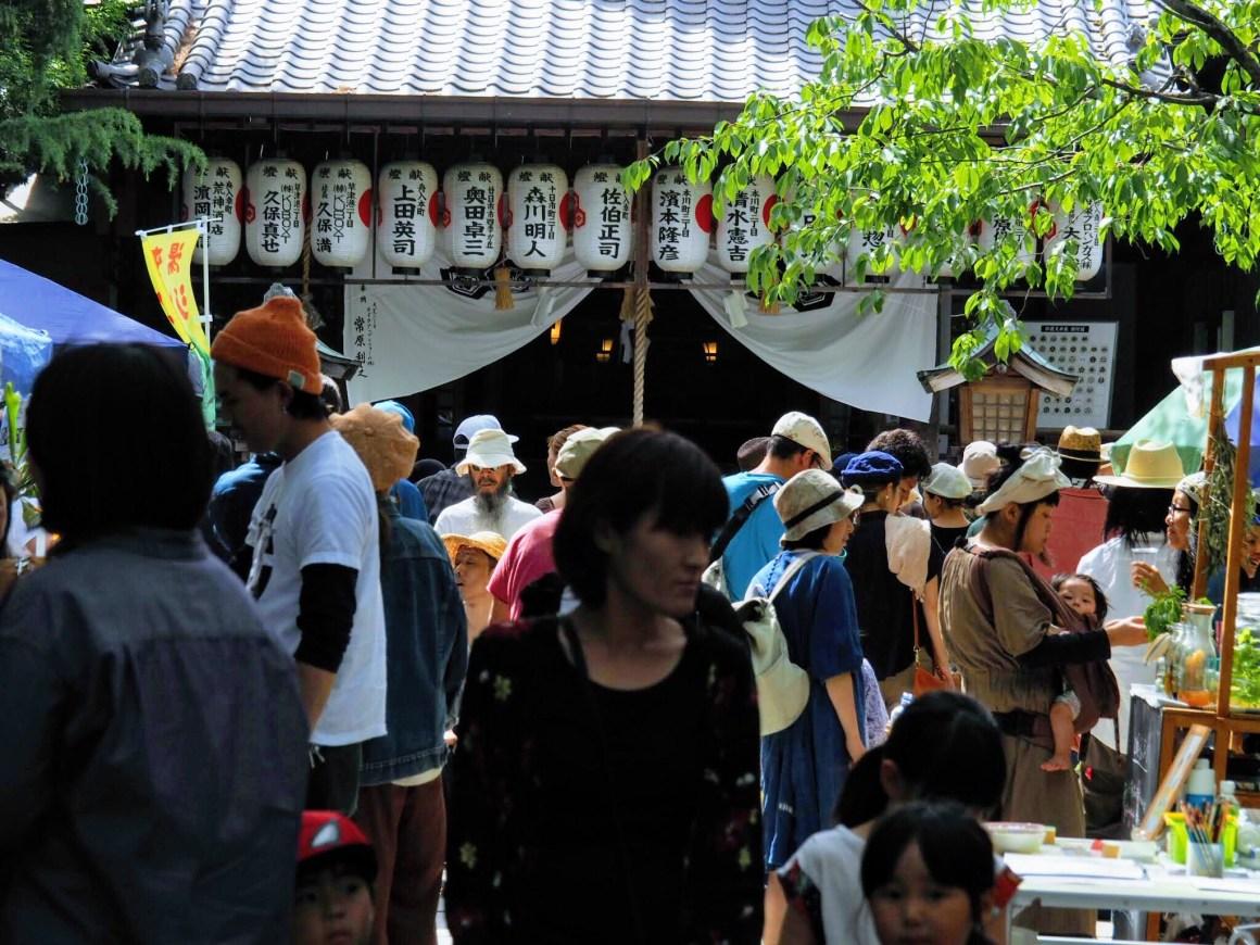 空鞘稲荷神社の境内