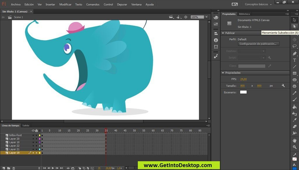 Adobe Animate CC 2019 19.2 Free Download - Get Into PC