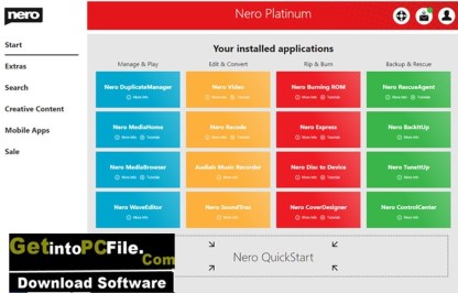 Nero Platinum Suite 2021 download