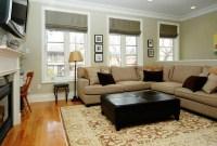 Amazing Wood Flooring Black Coffee Table Grey Sofa Small ...