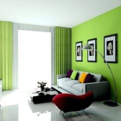 Lime Green Living Room Decorations Pictures Of Small Decor 20 Decorating Ideas Interior Design Center Colorful With Black Frames Bizezz Com