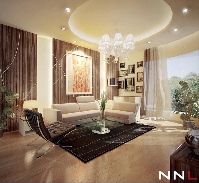 Black Brown Lounge Dream Home Interiors by Open Design Picture 35  Interior Design Center
