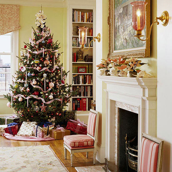 ideas for decorating your living room christmas pictures of chairs 12 33 decorations bringing the spirit into