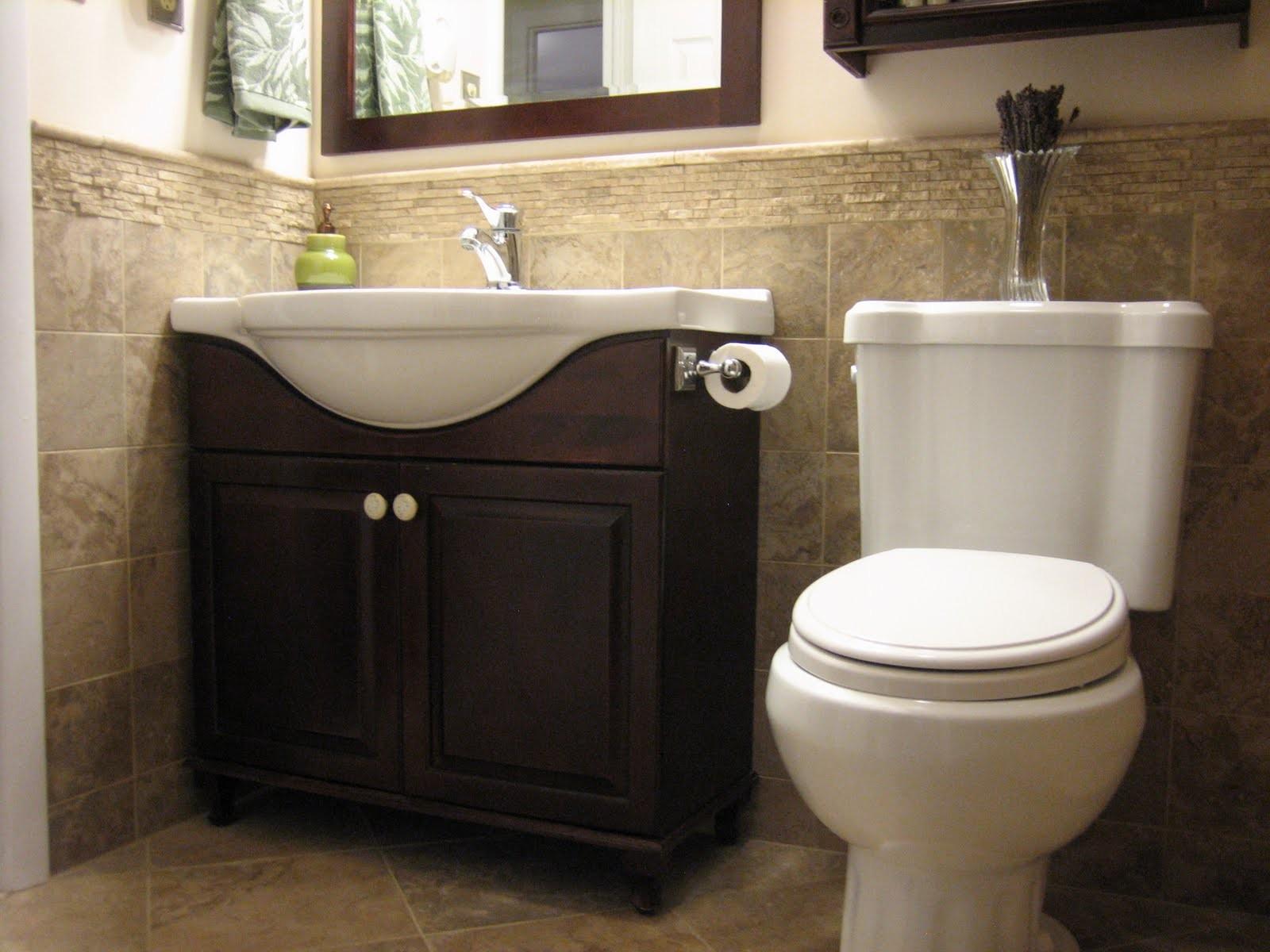 half bathroom tile ideas pwinteriors