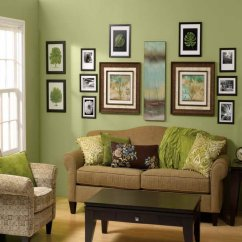 Painting Living Room Furniture White Small Apartment Kitchen Design Home Decoration Green Wall Paint Curtain Dining Table Chairs Affordable Amazing Cheap Decorating Ideas With Brown Colored Sofas