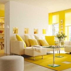 Yellow Paint Ideas For Living Room Light Wood Floors In Elegant Decorating With Sunny Colors Color Interior Design Center Inspiration