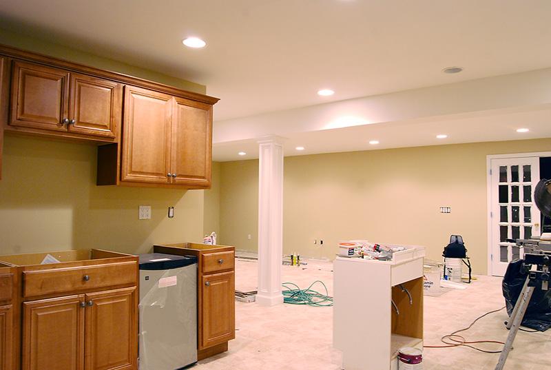 Finished Basement Remodel Renovation in Wayne and Montville NJ