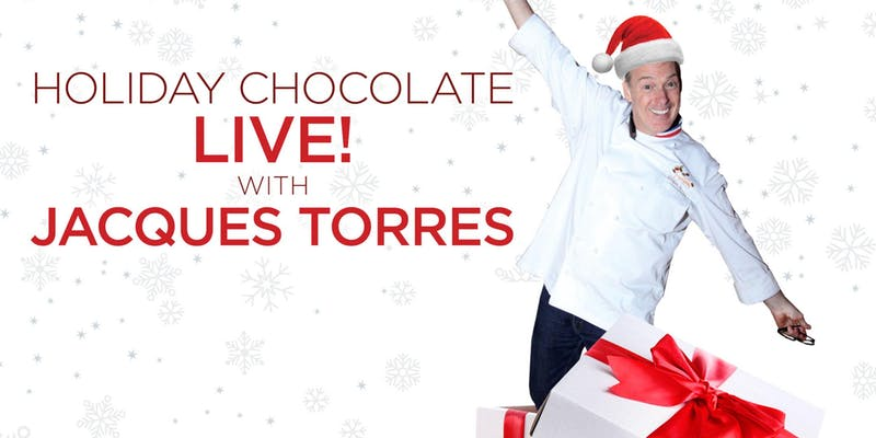 Holiday Chocolate Event with Chef Jacques Torres