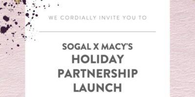 SoGal x Macy's: Holiday Partnership Launch