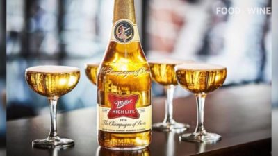 Miller High Life 'Champagne' Bottles Are Returning for the Holidays