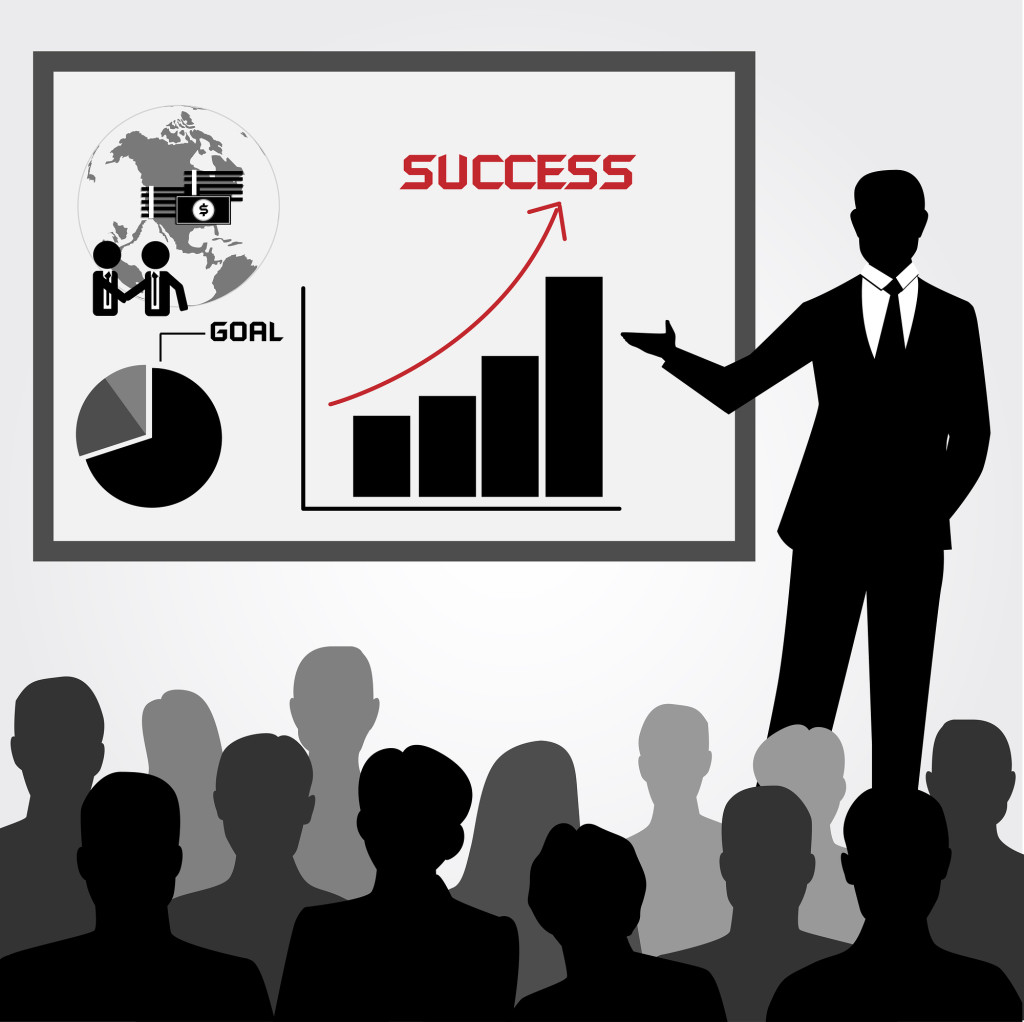 Business Training and Coaching Concept