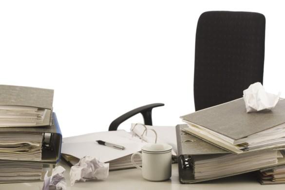 Disorganized Desktop