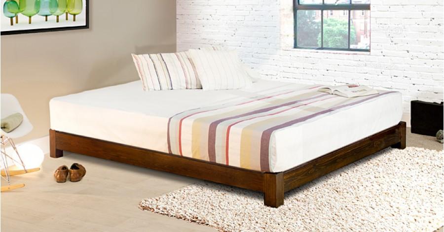 Low Platform Bed (Space Saver)