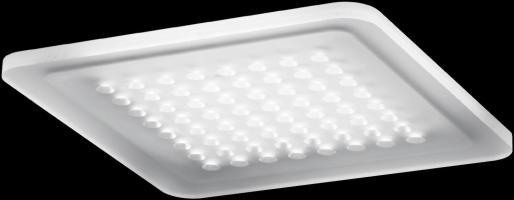 Nimbus Modul Q 64 LED für Direktmontage Deckenleuchte ...