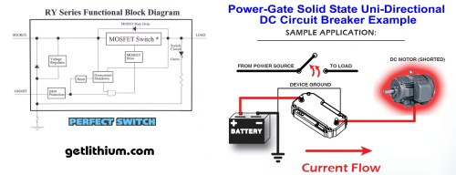 small resolution of power gate uni directional dc circuit breaker applications