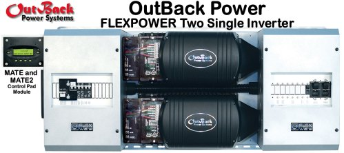 small resolution of outback power flexpower two single inverter electrical system