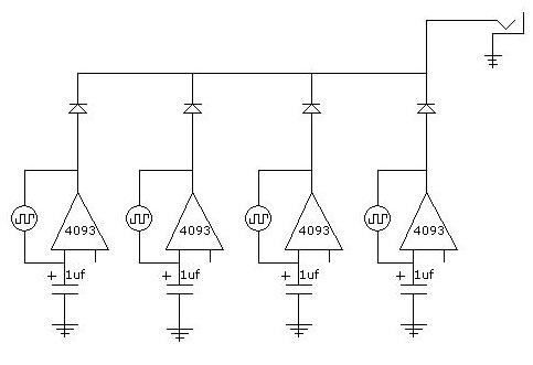 4093 based Oscillator | GetLoFi