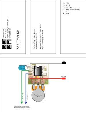 555 Timer Kit | GetLoFi – Circuit Bending Synth DIY