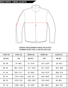 Jacket measurement chart also timiznceptzmusic rh