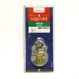 SQUIRE 440 OLD ENGLISH GALVANISED STEEL PADLOCK MAX. SHACKLE W X H: 18 X 18MM