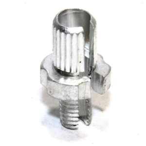 Brake Cable Adjuster M7 7mm Adjusting Barrel Alloy Silver