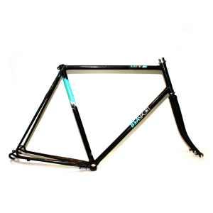 """BSA Sport 23.5"""" / 59.5cm Black Road Frame & Forks"""