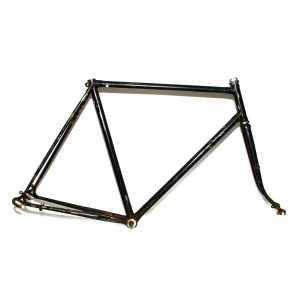 """Classic Vintage 23"""" / 58.5cm Black Road Frame & Forks"""