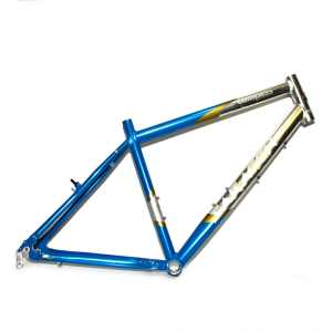 "Saracen Compass Comfort "" Alloy Rigid MTB Frame Polished Blue"