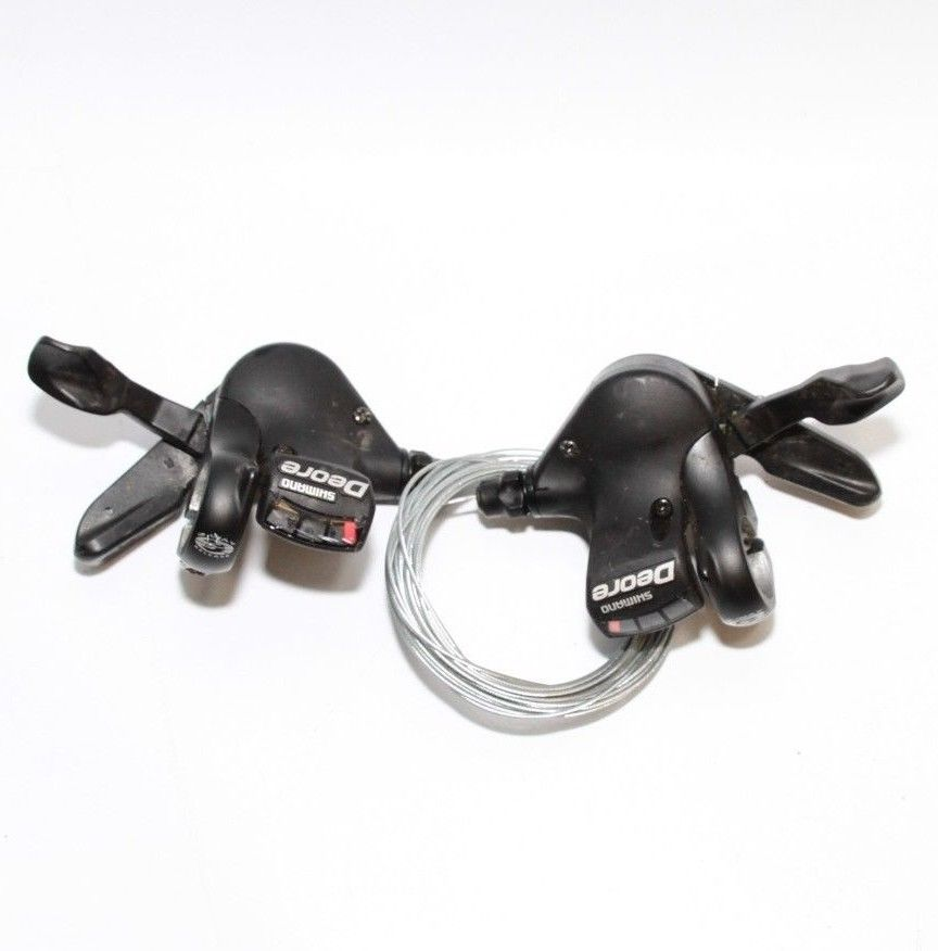 Shimano Deore SL-M510 9 Speed Rapidfire Trigger Shifters | Get Me Fixed