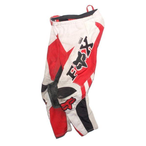 Fox Racing 180 HC Anthem Pant Red / White Kids