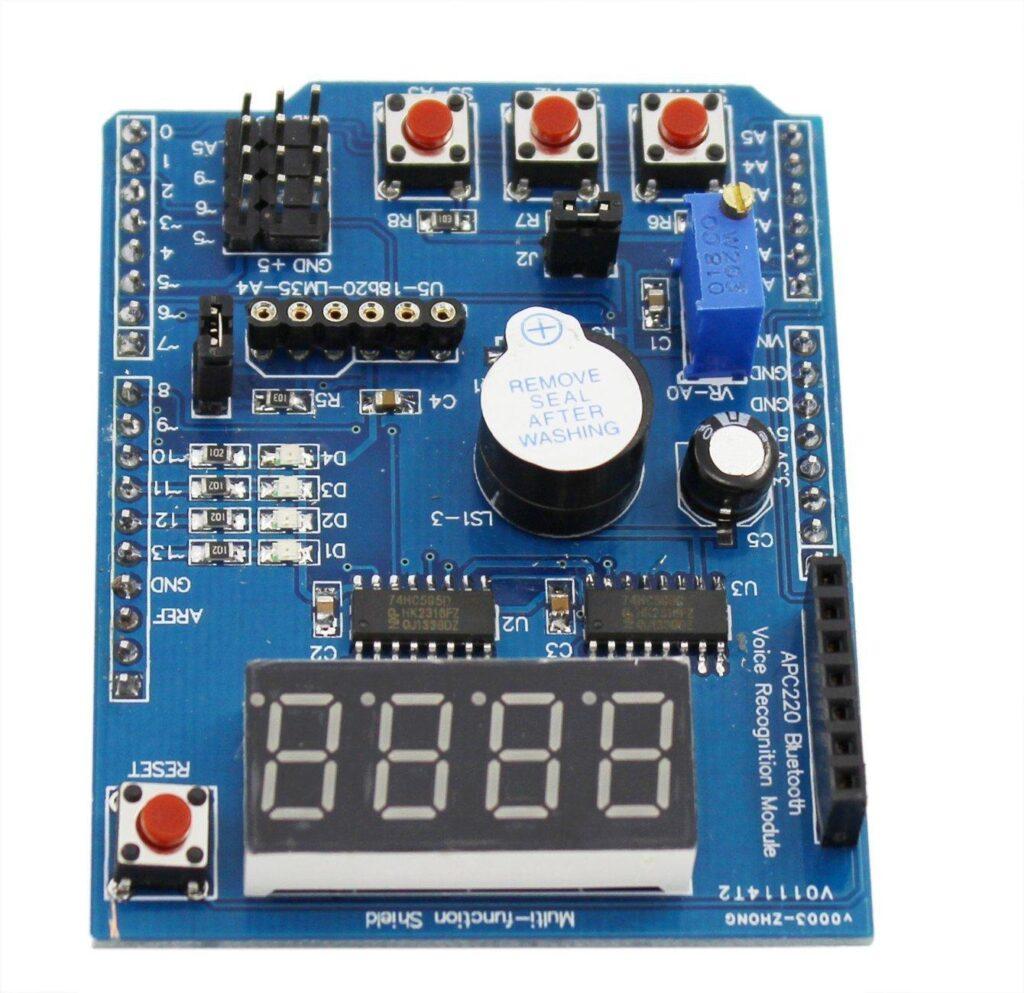 7 Segment Displays Tutorial Leds Sample Circuits