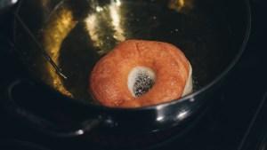 Frying donut - Paul Blart
