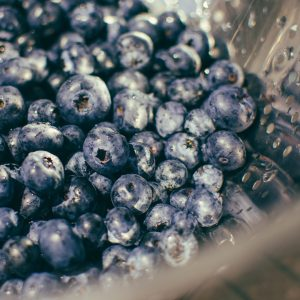 Washed berries for pickling - The Mummy