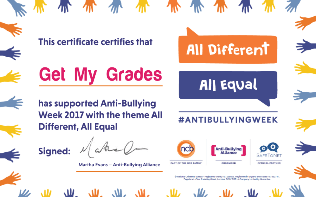Anti-Bullying Week 2017: Recap