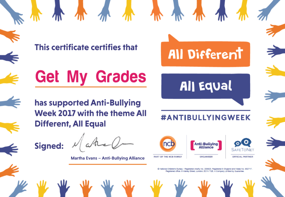 What is Anti-Bullying Week 2017?