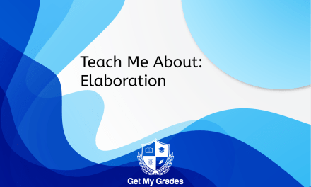Teach Me About: Elaboration
