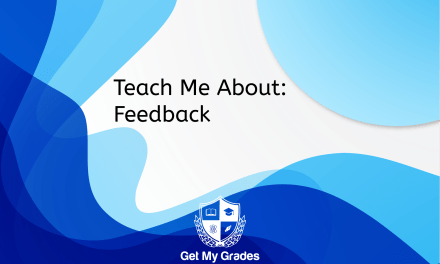 Teach Me About: Feedback