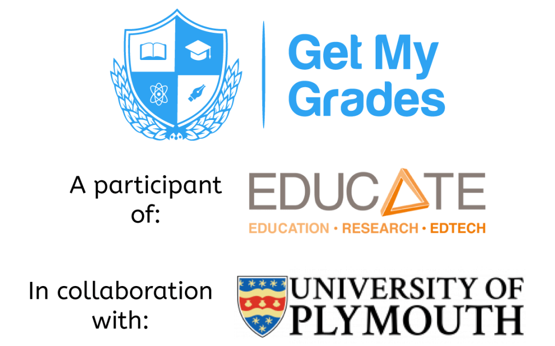 Get My Grades, EDUCATE and the University of Plymouth