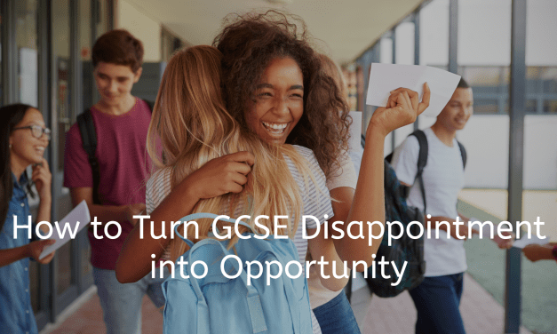 How to Turn GCSE Disappointment into Opportunity