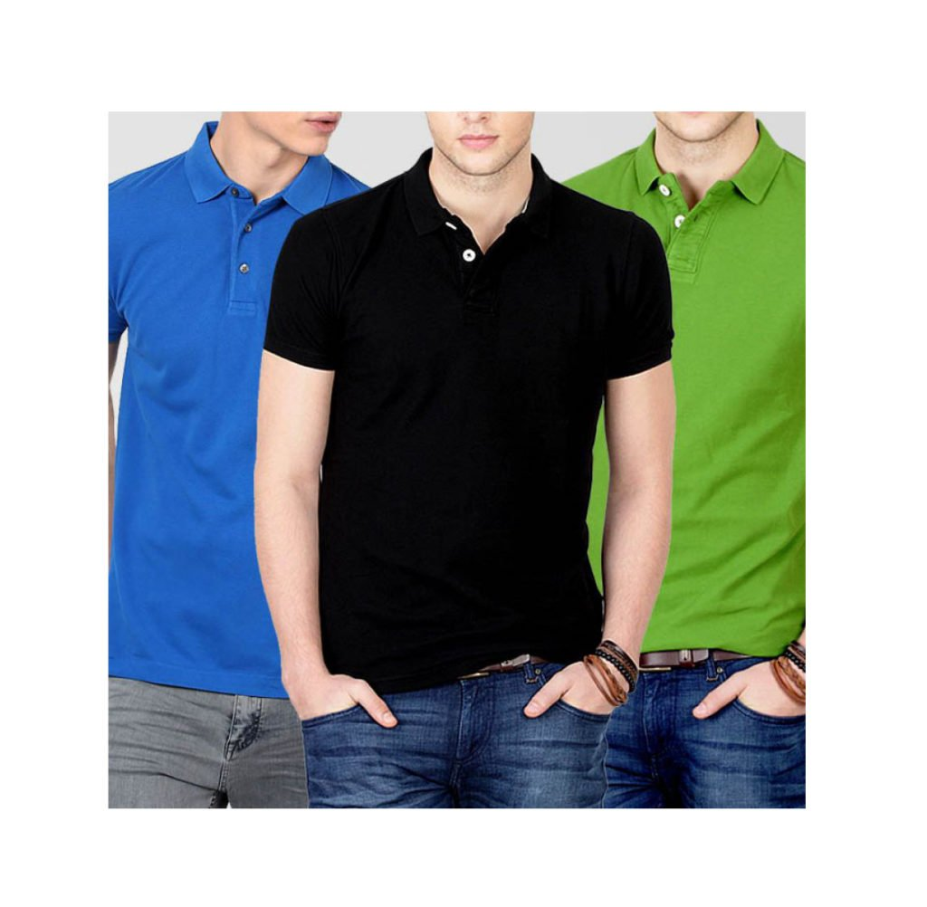 87f8e12d056 Buy Pack Of 3 Polo T-Shirts For Men in Pakistan