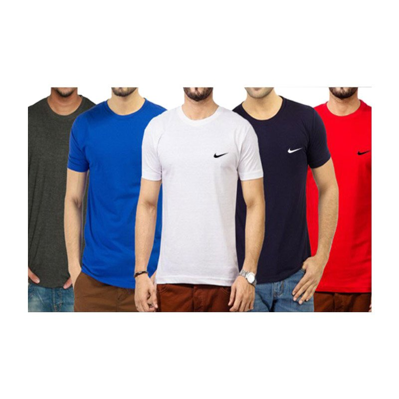 1dddbcf55 Buy Pack Of 5 Nike Round Neck T-Shirts in Pakistan