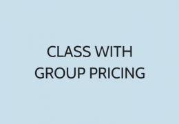 Class With Group Pricing