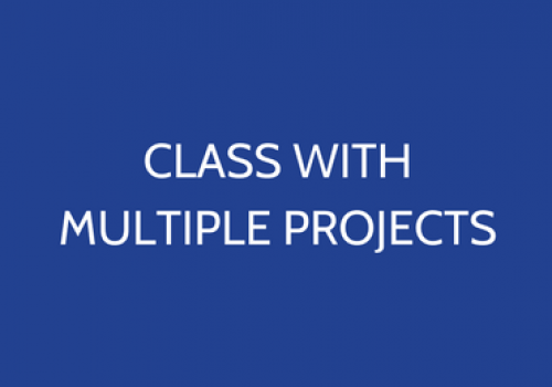 Class With Multiple Projects